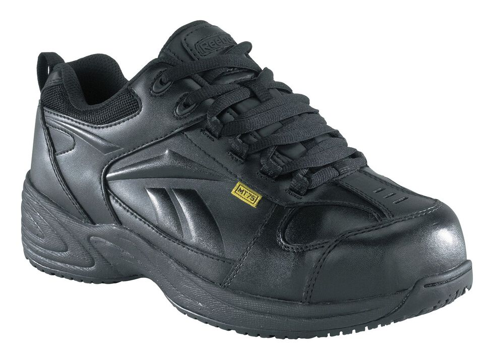 Reebok Women's Centose MetGuard Work Shoes - Composite Toe, Black, hi-res