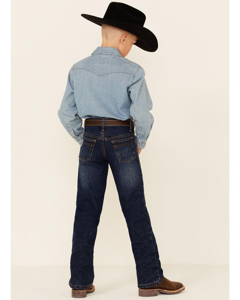 Cinch Boys' White Label Demin Straight Leg Jeans - Slim-8-18, Denim, hi-res