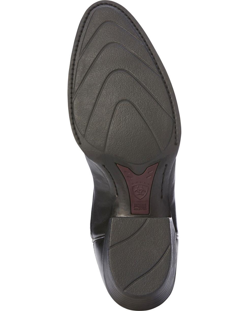Ariat Men's Black Heritage Calhoun Limousin Boots - Pointed Toe , Black, hi-res