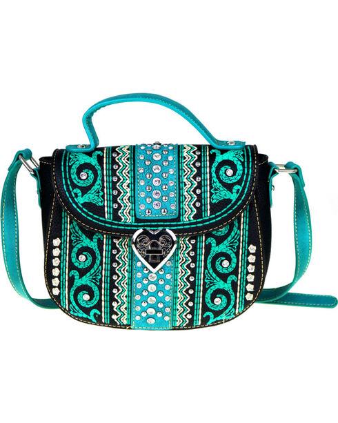 Montana West Women's Bling Bling Collection Crossbody Bag, , hi-res