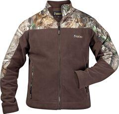 Rocky Casual Lifestyle Camo Fleece Jacket, Brown, hi-res