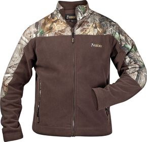 Rocky Casual Lifestyle Camo Fleece Jacket, Brown, hi-res
