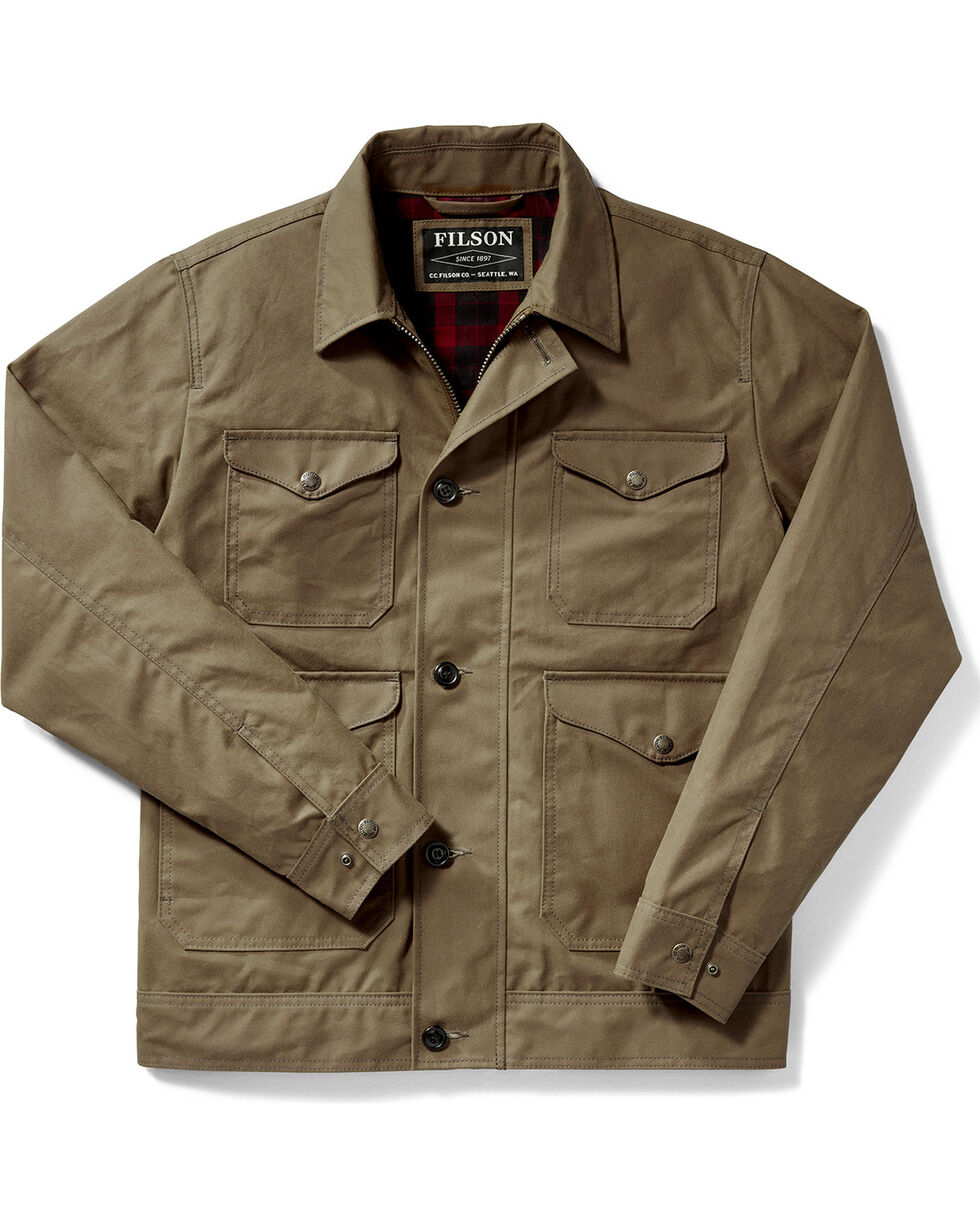 Filson Men's Dark Tan Northway Jacket , Tan, hi-res