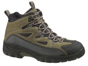 Wolverine Fulton Mid-Cut Waterproof Hiking Boots, Black, hi-res