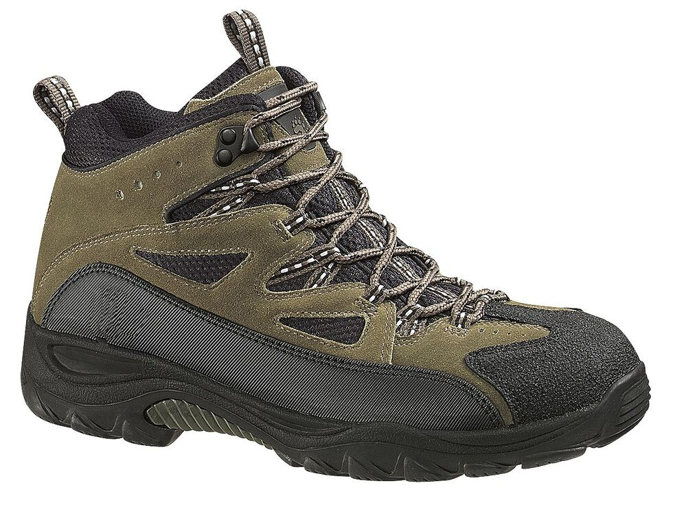 Wolverine Fulton Mid-Cut Waterproof Hiking Boots, Black, hi-res