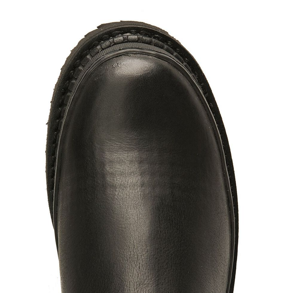 Georgia Giant Romeo Slip-On Work Shoes, Black, hi-res