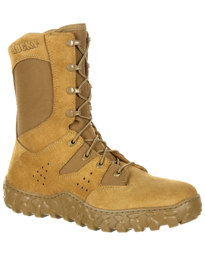 Rocky Men's S2V Predator Military Boots , Tan, hi-res
