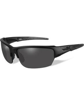 Wiley X Black Ops Saint Grey Matte Black Sunglasses   , Black, hi-res