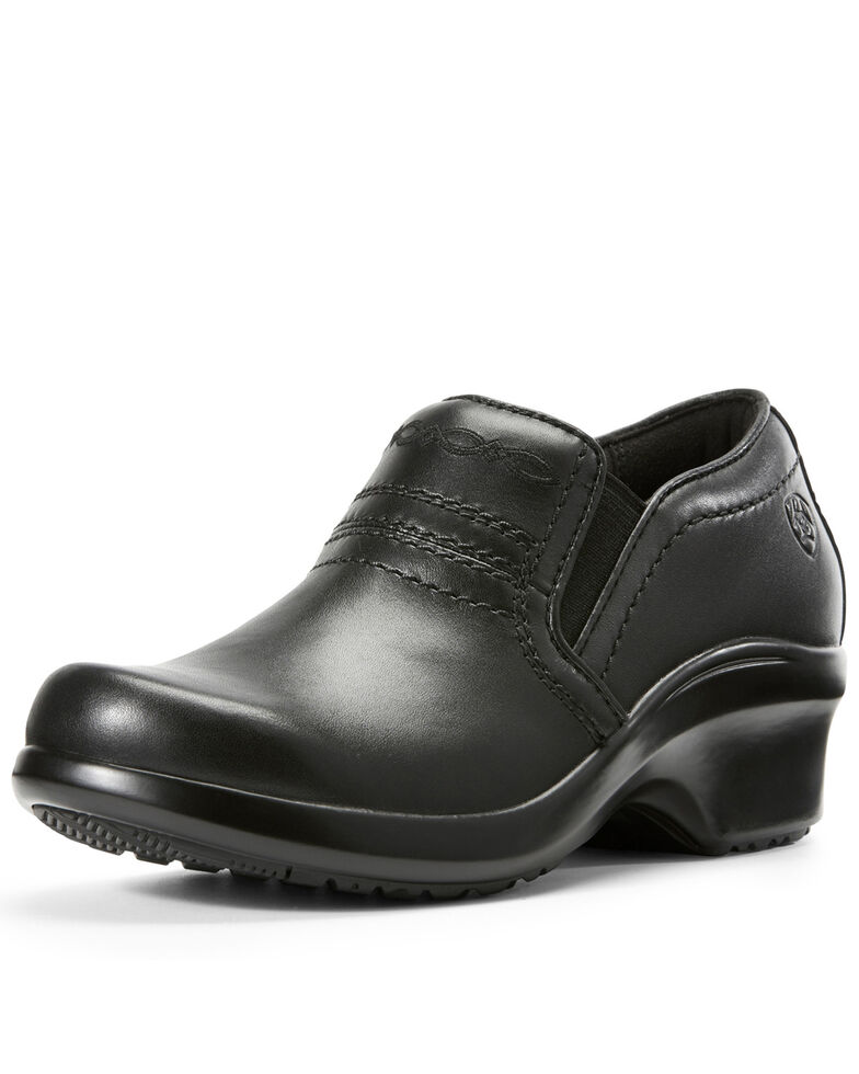 Ariat Women's Expert Clogs - Round Toe, Black, hi-res