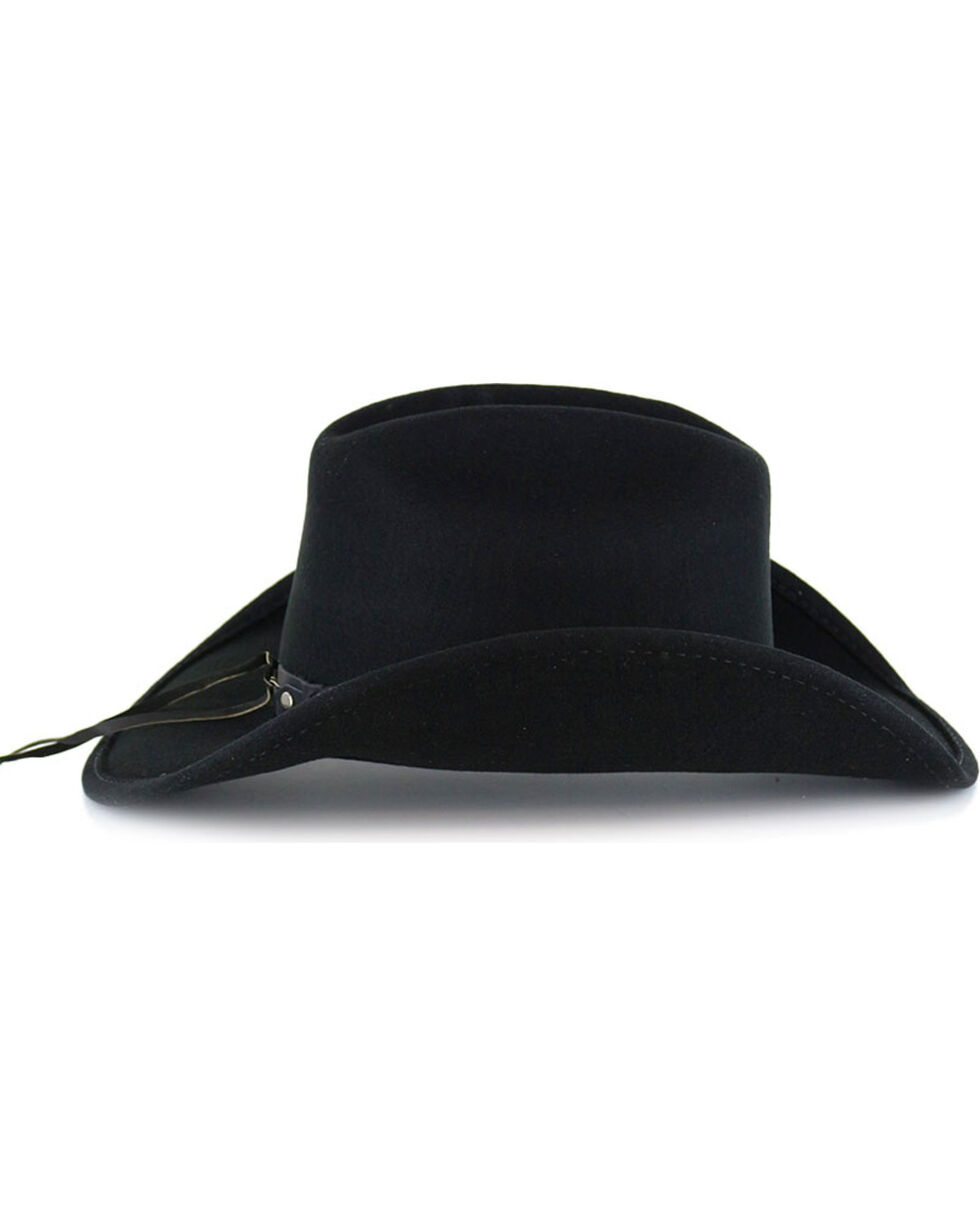 Cody James Boys' Sidekick Wool Hat, Black, hi-res