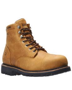 Wolverine Men's Journeyman Work Boots - Soft Toe, Distressed Brown, hi-res