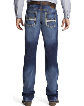 Ariat Men's Indigo M4 Whitewash Jeans - Boot Cut , Indigo, hi-res