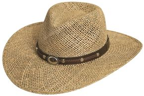 Silverado Seagrass Straw Hat, Natural, hi-res