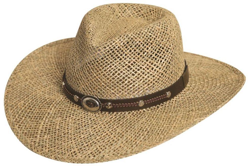 Silverado Seagrass Straw Hat, Natural, hi-res