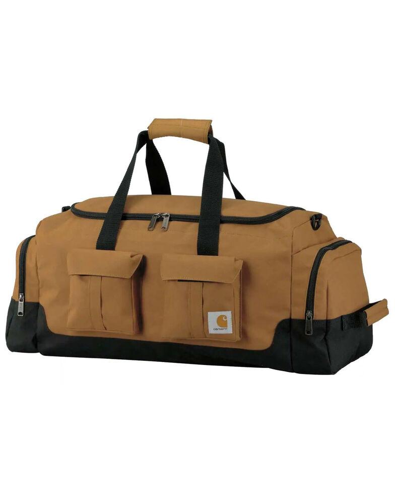 """Carhartt Brown Legacy 25"""" Utility Duffel Work Bag , Brown, hi-res"""