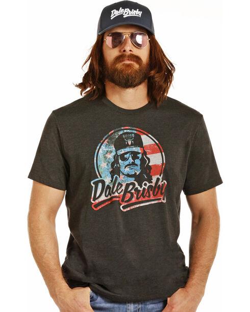 Dale Brisby Men's Black Patriotic Tee, Black, hi-res