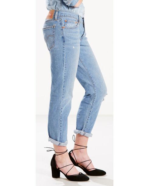 Levi's Women's Gimme A Break Boyfriend Jeans, Indigo, hi-res