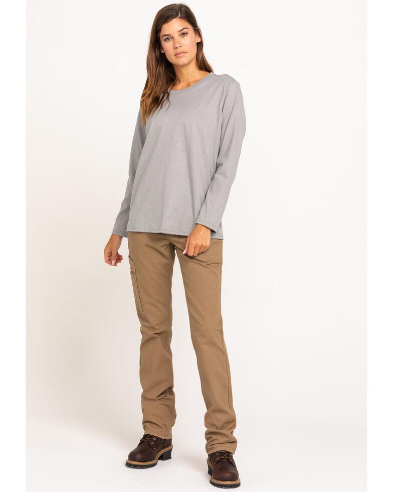 Ariat Women's Silver Fox America Graphic FR T-Shirt , Grey, hi-res