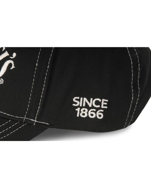 Jack Daniel's Black Logo Cap, Black, hi-res