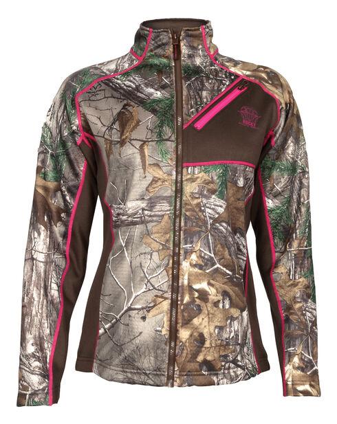 Rocky Women's Realtree Xtra Camo Fleece Jacket, Camouflage, hi-res