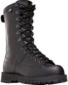 "Danner Unisex Fort Lewis 10"" Insulated Uniform Boots, Black, hi-res"
