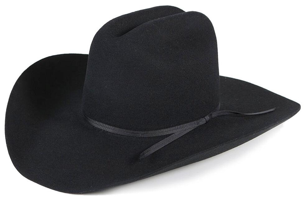 Cody James 3X Mesquite Pro Rodeo Wool Felt Cowboy Hat, Black, hi-res