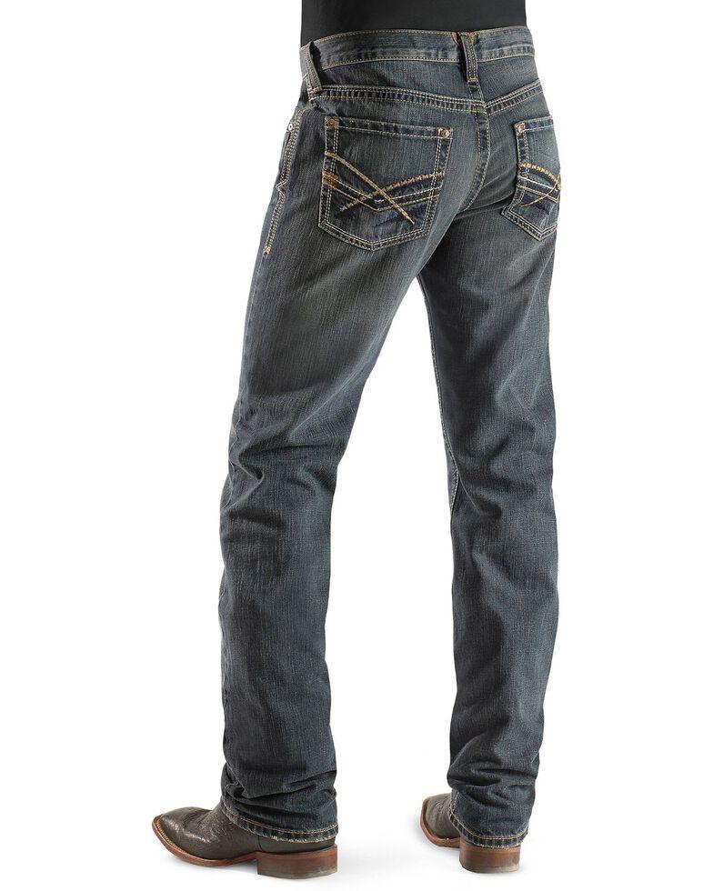 Ariat Men's M5 Arrowhead Deadrun Wash Jeans - Big & Tall, Denim, hi-res