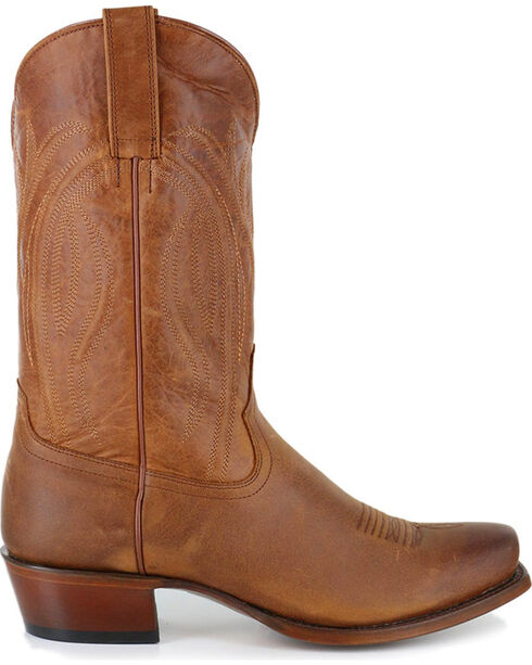 Cody James Men's Hombre Square Toe Western Boots - Square Toe, Tan, hi-res