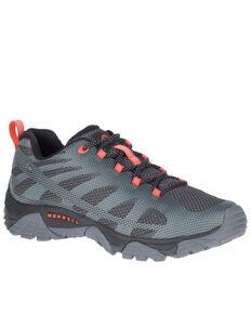 Merrell Men's MOAB Edge 2 Waterproof Hiking Shoes - Soft Toe, Grey, hi-res