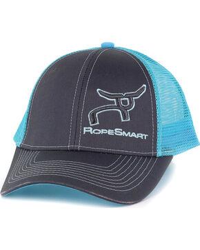 RopeSmart Men's Embroidered Logo Ball Cap, Dark Grey, hi-res