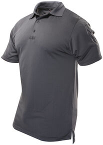 Tru-Spec Men's 24-7 Series Short Sleeve Performance Polo Shirt - Extra Large (2XL - 5XL), Charcoal Grey, hi-res