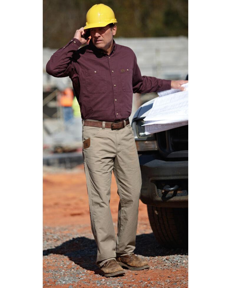 Wrangler Riggs Men's Technician Work Pants, Dark Khaki, hi-res