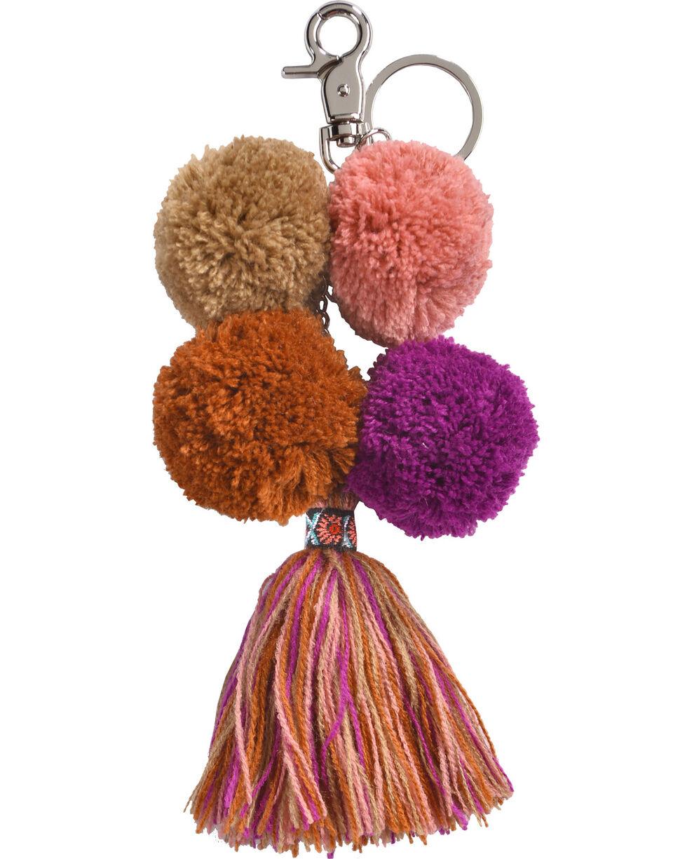 Shyanne Women's Chiapas Keychain, Purple/pink, hi-res
