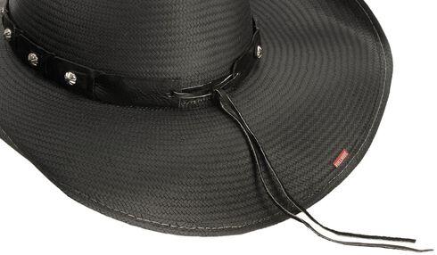Bullhide Girls Lie Too Straw Cowboy Hat, Black, hi-res