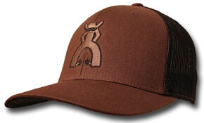 "HOOey Men's Punchy ""Peeler"" Brown Mesh Cap, Brown, hi-res"