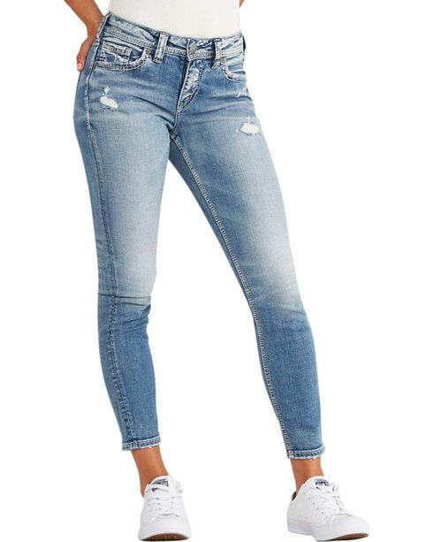 Silver Women's Indigo Avery Ankle Jeans - Skinny Leg, Indigo, hi-res
