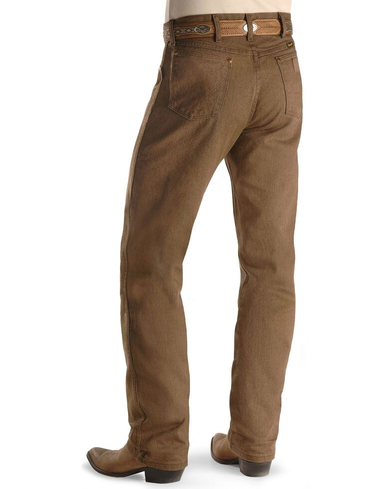Wrangler 13MWZ Cowboy Cut Original Fit Jeans - Prewashed Colors, Whiskey, hi-res