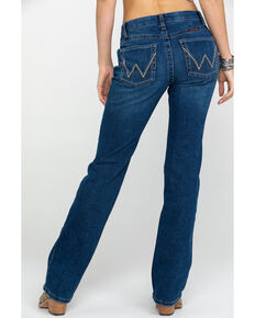 Wrangler Women's Ultimate Riding Medium Gold Hill Q-BABY Jeans, Blue, hi-res