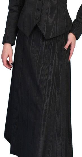 Scully WahMaker Vintage Five Gore Walking Skirt, Black, hi-res