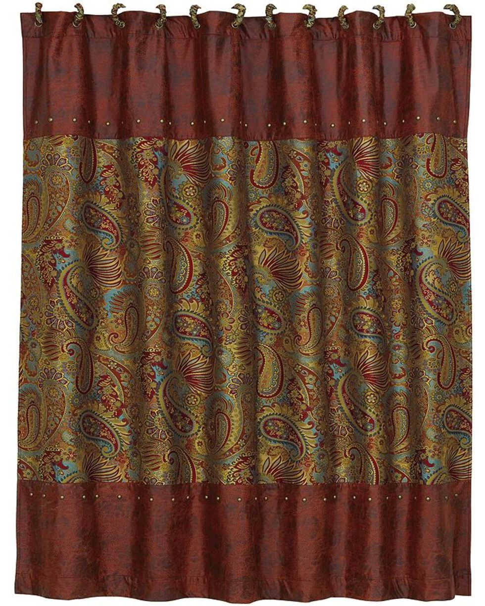 HiEnd Accents San Angelo Shower Curtain, Multi, hi-res