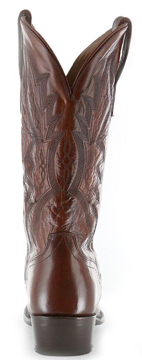 El Dorado Antique Calf Cowboy Boots - Square Toe, Tan, hi-res