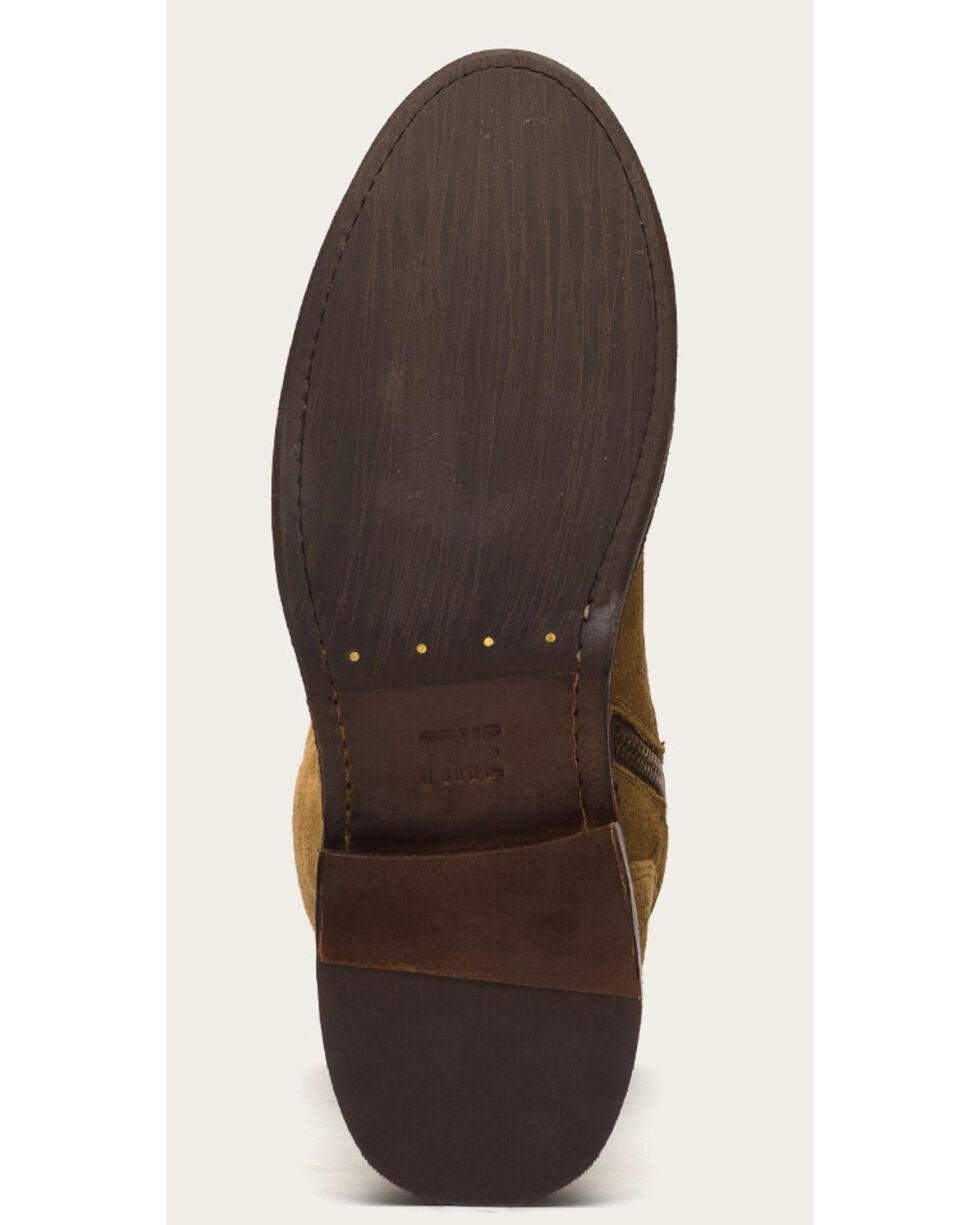 Frye Women's Cashew Suede Shirley OTK Boots - Round Toe , Suntan, hi-res