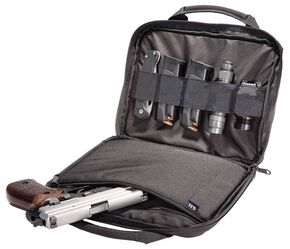 5.11 Tactical Single Pistol Case, Black, hi-res