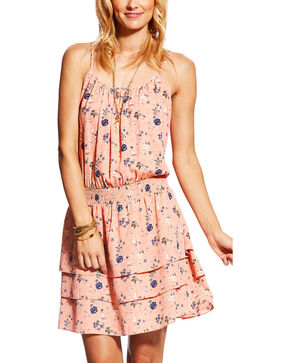 Ariat Women's Blush Vanessa Floral Dress, Blush, hi-res