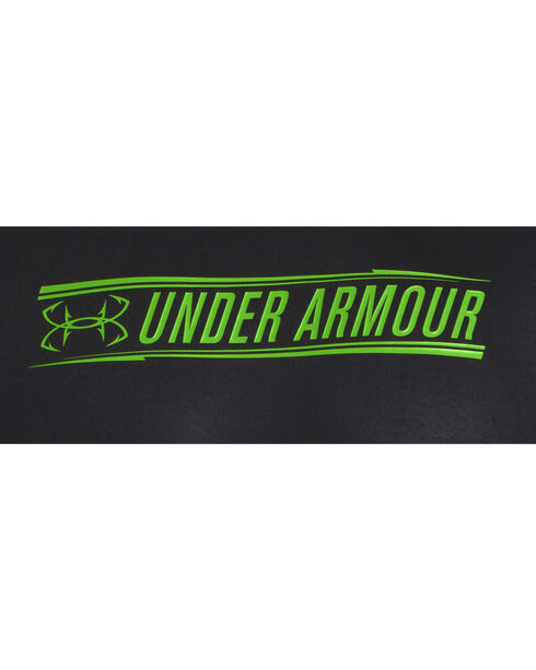 Under Armour Short Sleeve Vented Chill Element Shirt, Black, hi-res