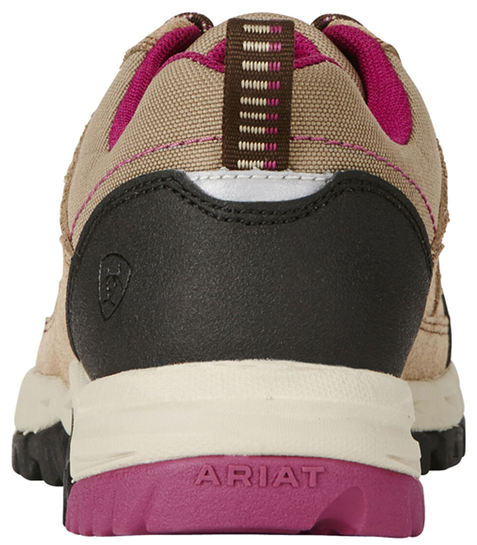 Ariat Women's Tan Skyline Lo Lace Shoes, Tan, hi-res