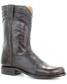 Corral Men's Chocolate Western Boots - Round Toe, Chocolate, hi-res