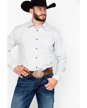 Gibson Men's Tiki Bar Long Sleeve Western Shirt, Tan, hi-res
