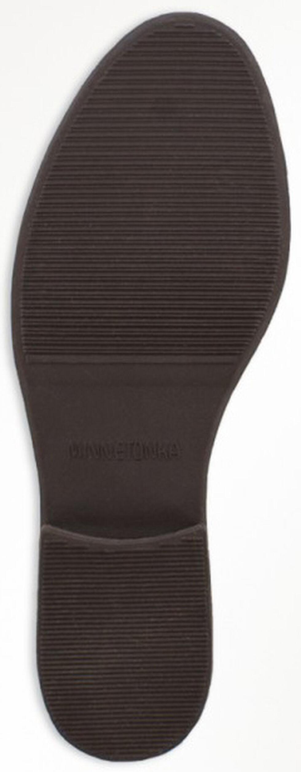 Minnetonka Women's Dixon Booties - Round Toe, Dusty Brn, hi-res