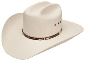 6fe4fd7a Resistol George Strait Hazer 10X Shantung Straw Cowboy Hat, Natural, hi-res
